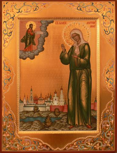 Матрона Московская адрес монастыря